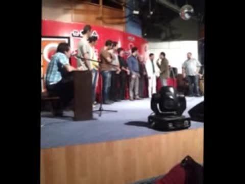 مسابقه ی بزرگ خنده و تقلید صدا با داوری حسن ریوندی