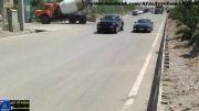 درگ جیپ گرند چروکی SRT8 و مرسدس SLK350 در تبریز