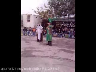 تعزیه حر امیر حسین نوروزی-مرحوم کربلایی رضا قاسمی