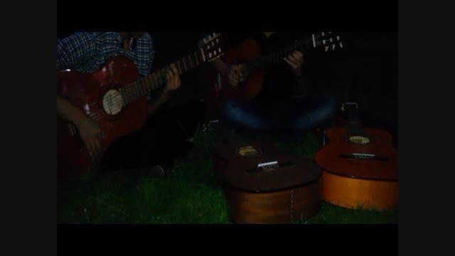 تقاص حمید عسکری با گیتار