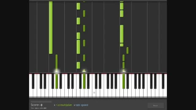 کاور پیانو آهنگ umberlla از ریحانا