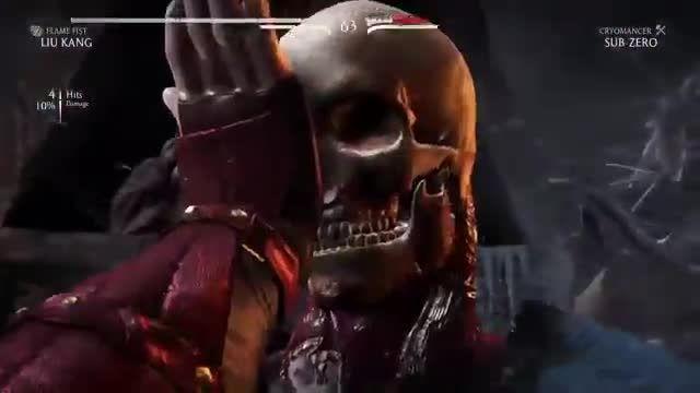 فیتالیتی دوم لیو کنگ در بازی mortal kombat X