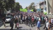 راهپیمایی روز قدس سال 93 در شهرستان کلاله