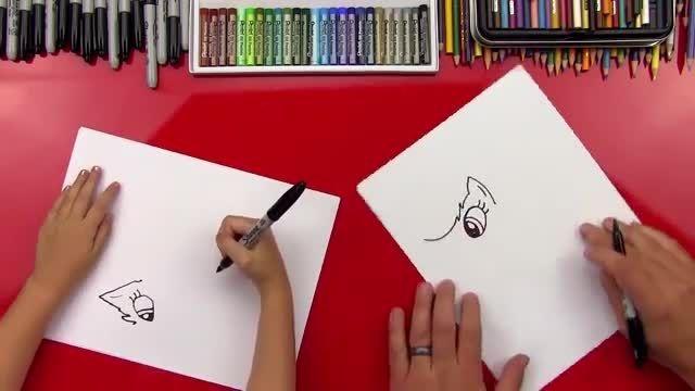 اموزش نقاشی اپل جک به شکل پونی