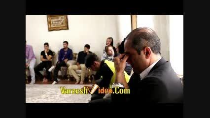 سوال همسر هادی نوروزی از کریم باقری و اشک های کریم