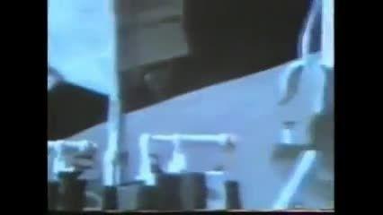 باید ببینید! آپولو فضانورد حیرت زده با بشقاب پرنده 2013
