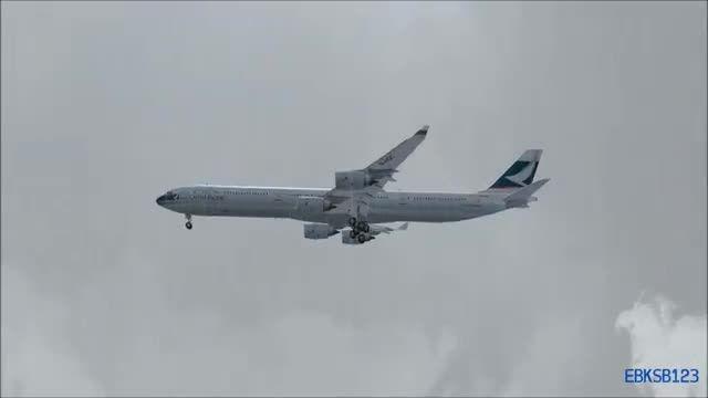 فرود ایرباس A340-600 جدید ماهان در شبیه ساز الماس