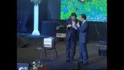 قرعه کشی جالب و خنده دار حسن ریوندی و محمود شهریاری