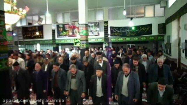 گوشه های از نماز با شکوه جمعه مهربان 29 آبان 94