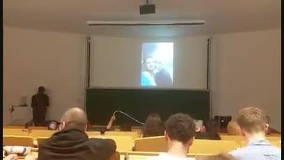 خواستگاری پسر ترک از دختر ترک در دانشگاه دوسلدورف