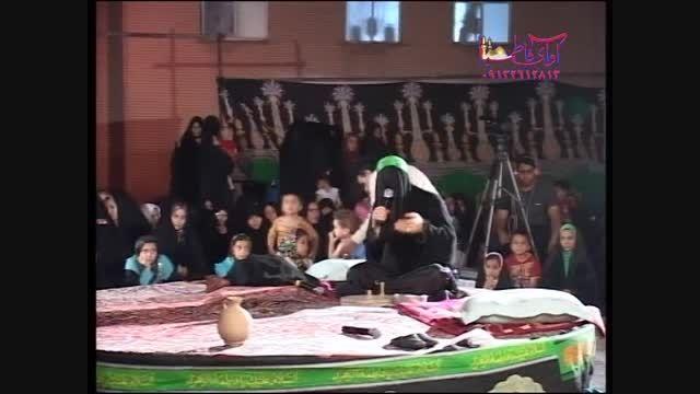 تعزیه حضرت زهرا قسمت آسیاب کردن-شاهکار سید حسن گلختمی