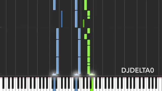 mlp let the rainbow remind you piano version