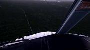 فیلمی شگفت انگیز از شبیه ساز پرواز.فرود در فرودگاه اسلو