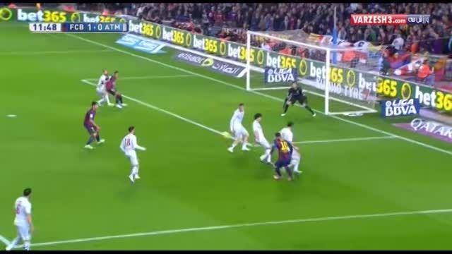 بارسلونا ۳-۱ اتلتیکومادرید
