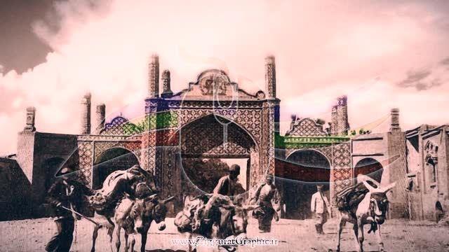قزوین - دروازه تهران قدیم