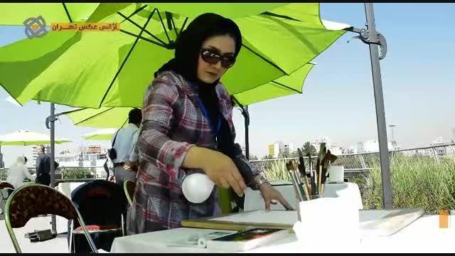 افتتاحیه جشنواره رنگ و خیال در پل طبیعت