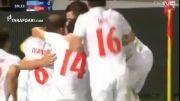 گل های بازی یونان 0 - 2 صربستان