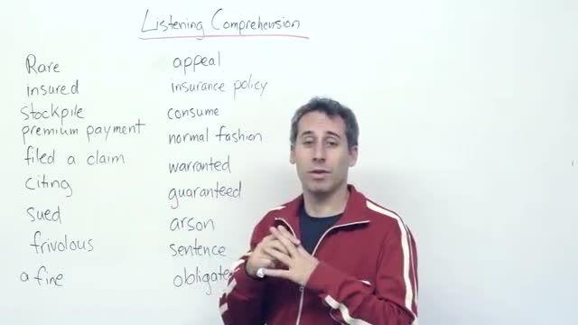 آموزش کلمات جدید زبان انگلیسی (رشته ی حقوق) 3