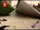 حادثه در آماده سازی مراسم بدرقه فاطمه1391