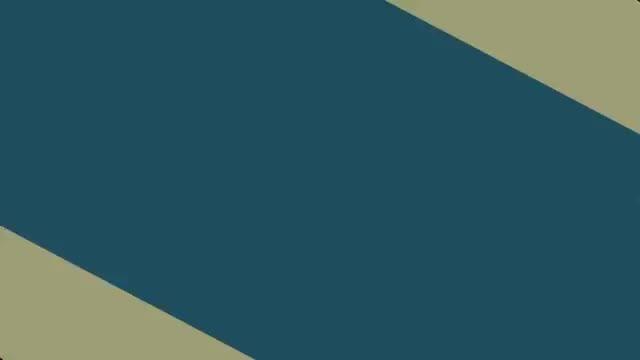 موشن گرافیک دایره ترکیب با اشکال هندسی