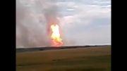 انفجار در لوله گاز شرق اکراین