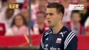 خلاصه بازی والیبال ایران 2 - 3 لهستان
