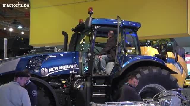 New Holland op de AGRIBEX 2013 - Uitleg van de T8.420 A