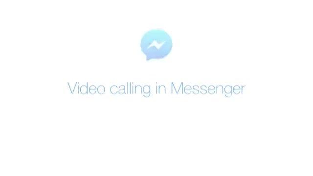 فیسبوک تماس تصویری رایگان را به مسنجر خود اضافه کرد