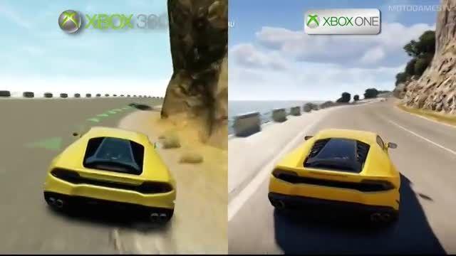 مقایسه فورزا horizon2در xbox one با xbox 360