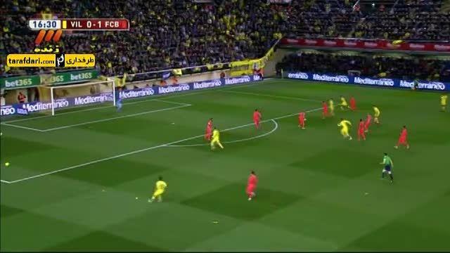 خلاصه بازی ویارئال 1-3 بارسلونا