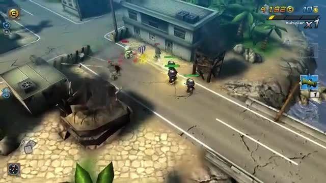 تریلر بازی Tiny Troopers 2 برای ویندوز فون