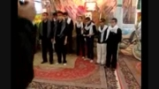 خَوَر فروی: اجرای جوانان بسیجی در یادوراه شهدای فرخی