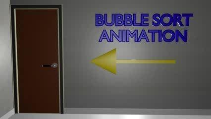 انیمیشن بسیاز زیبای سه بعدی آموزش سورت حبابی