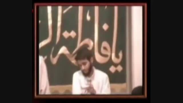 عاشق امام رضا(ع) _ مداحی شهید حسین غفاری در شب میلاد