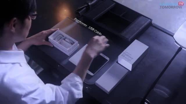 ویدئوی اینباکس گلکسی اس 6 اج: سرهم کردن قطعات توسط دست!