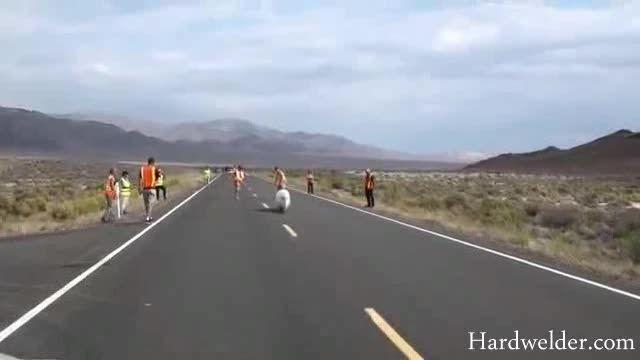 شکسته شدن رکورد سریع ترین دوچرخه ی دنیا