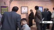 گزارش خبری نمایشگاه پوستر پنجاه در هفتاد