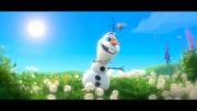 آهنگ رویای تابستونی-انیمیشن frozen به زبان ژاپنی