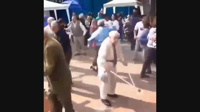 پیر مرد ها هم پیر مرد های قدیم