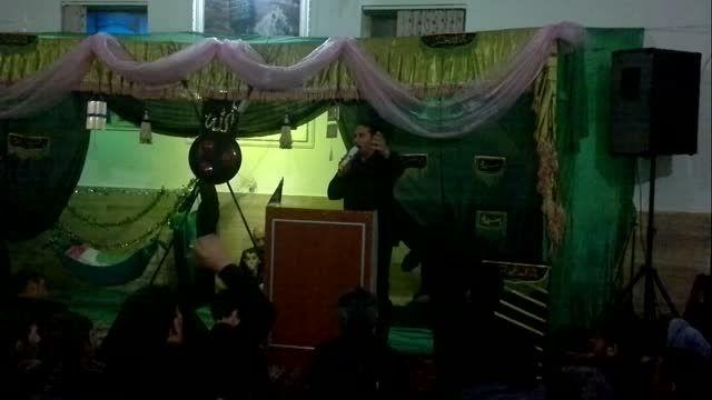 مراسم طشت گذاری هیئت زینب کبری محله توتلوق شهرستان ماکو