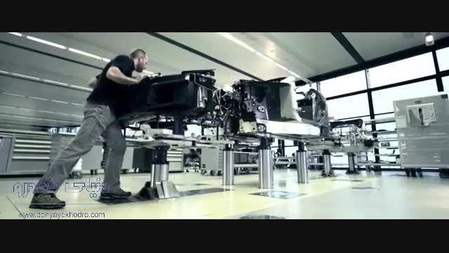 روند ساخت آخرین بوگاتی ویرون La Finale