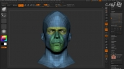 Texturing A Head In ZBrush And Rendering In Marmoset