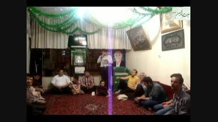 شعر خوانی کربلایی مرتضی خانزاده در روز عید مبعث