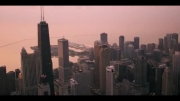 نمایی زیبا از شهر شیکاگو