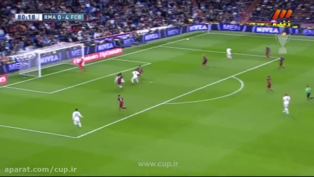 خلاصه بازی؛ رئال مادرید ( 0 ) - بارسلونا ( 4 )