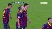 بارسلونا vs آژاکس | 4 - 0 | گل مسی