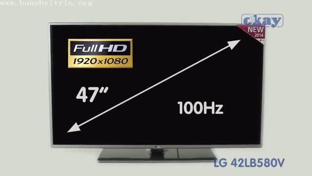 تلویزیون ال ای دی فول اچ دی اسمارت ال جی LB580