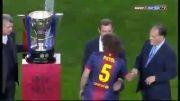 جشن قهرمانی و اهدای جام بارسلونا لالیگا 2012-2013 | پارت یک