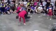 مسابقه رقص با بچه کوچیک