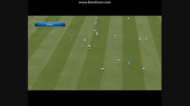 گل فوق العاده آگرو به والنسیا ZoomgSoccer